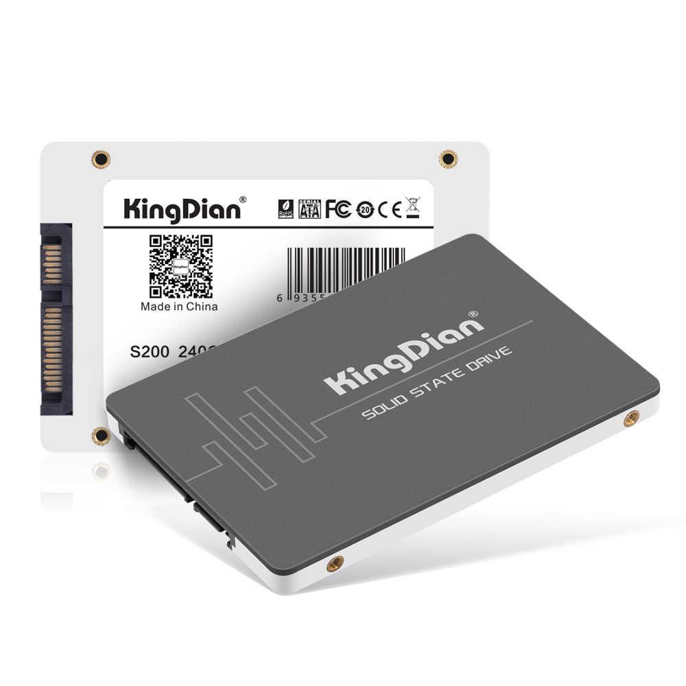 KingDian SSD DA 120GB 240GB 480GB 1TB 2TB SSD SATA3 2.5 ''hdd SSD DA 128GB 256GB 512GB Interno Solid State Drive