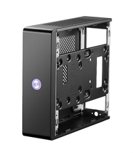 PC Mini ITX Case Horizontal Desktop Computer Bludio Empty Chassis Aluminum Alloy HTPC Home Theater Gaming Case Free shipping D jonsbo c2 c2r mini pc chassis mini itx atx case vertical all aluminum alloy usb 3 0 support video card