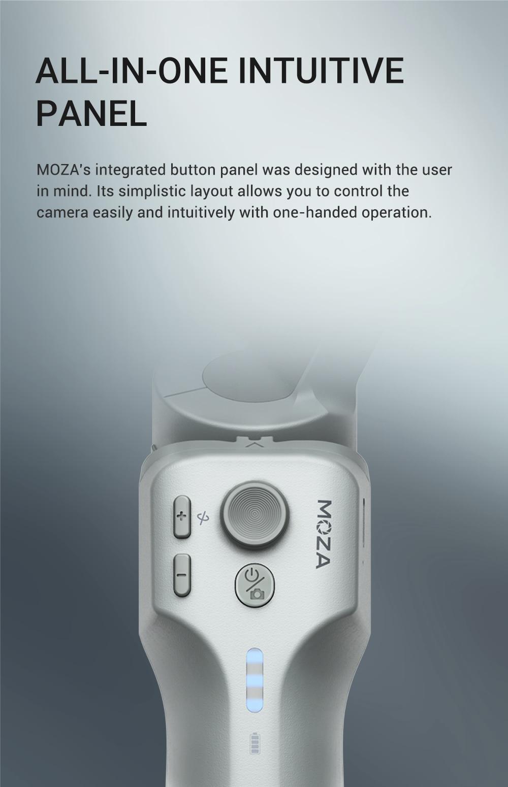 MOZA Mini MX Gimbal Handheld Stabilizer 10