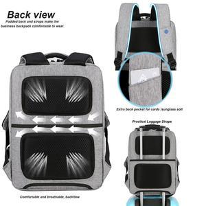 Image 5 - Cartinoe USB Charging 17.3/15.6 Inch Laptop Bag For Macbook Air/Pro Anti Theft Laptop Backpack Men Travel Bag Male Mochila Bag