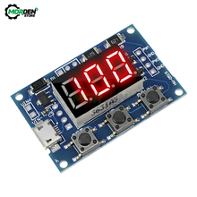 Dc 5V 12V 24V Micro Usb Dc 2CH Verstelbare Pwm Signaalgenerator Duty Cycle Puls Frequentie Module digitale Led Display Buis