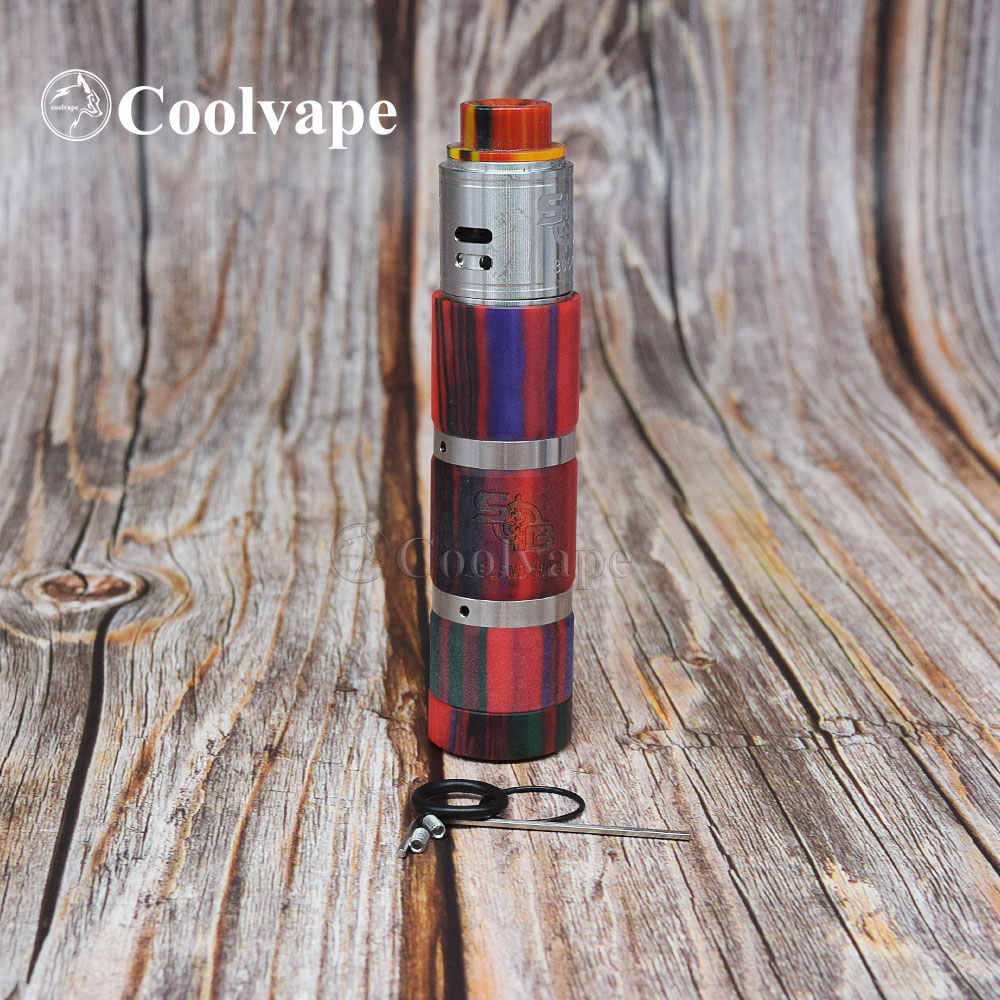 Мод coolvape style sob elthunder, батарейка 18650, 25 мм, диаметр titan x, испаритель, механические наборы вейпов, Avid Lyfe mod