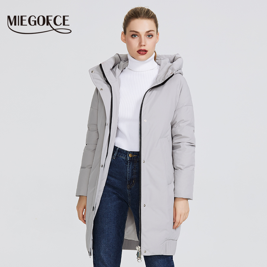 Image 3 - MIEGOFCE 2019 New winter womens collection Womens Winter Jacket