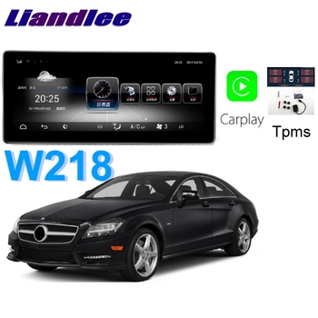 Liandlee Car Multimedia Player NAVI For Mercedes Benz MB CLS Class W218 CLS350 CLS250 CarPlay TPMS Stereo GPS Navigation