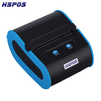 New 80mm Android Windows Mini Label Printer Portable Pocket Wireless QR Bar Code Sticker Label Bluetooth Thermal Printer