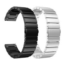 Ремешок из нержавеющей стали для Xiao mi, сменный ремешок для часов mi, аксессуары для часов, регулируемый размер+ бесплатный инструмент