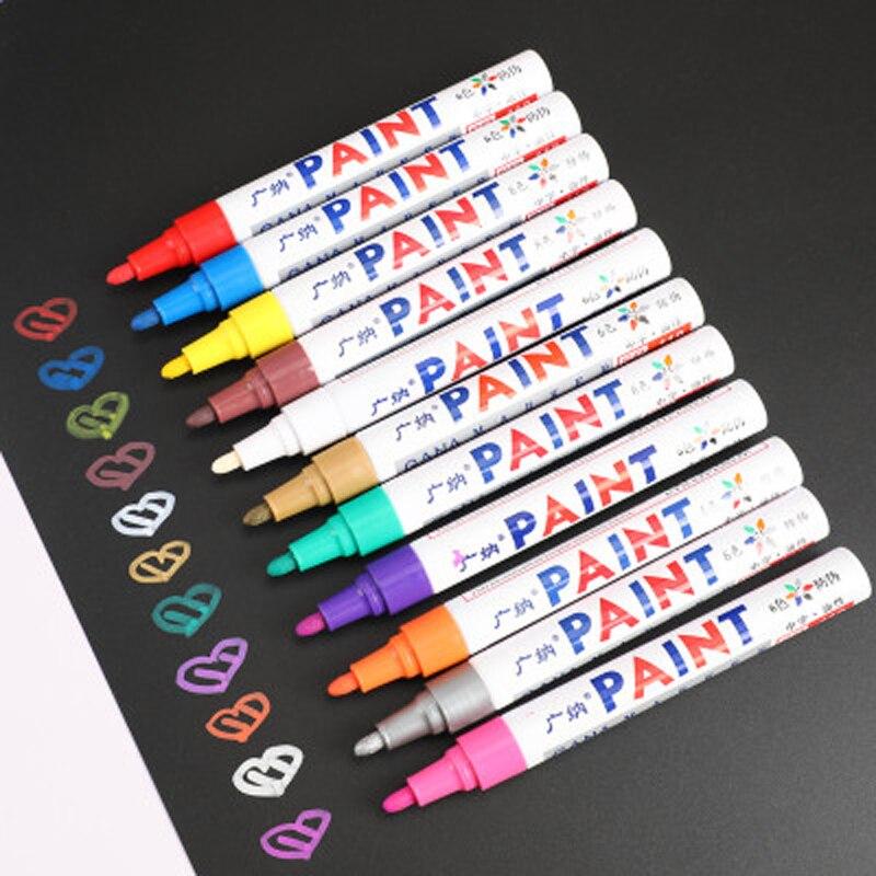 de metal grafite marcadores de tinta permanente 03