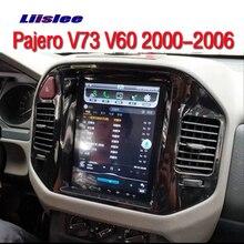 Para Mitsubishi Pajero V73 V60 V68 2000 ~ 2006 coche Multimedia TV DVD GPS de Audio de alta fidelidad Radio estilo Original de navegación + Carplay