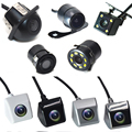 BYNCG Автомобильная камера заднего вида 4 светодиодных монитора ночного видения заднего вида CCD водонепроницаемый 170 градусов HD видео