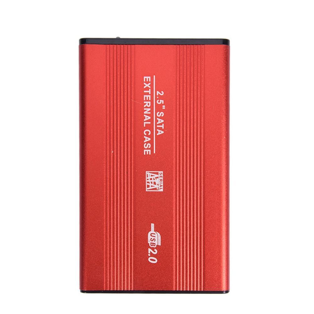 External USB 2.0 2.5inch SATA SSD HDD Enclosure Mobile Hard Disk Drive Case Box