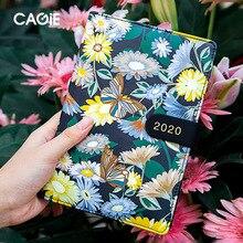 Agenda 2020 Planner Orgainzer B6 Diary Grid Notebook Kawaii Bullet Journal Weekly Monthly Note Book Korean Travel Handbook Cute