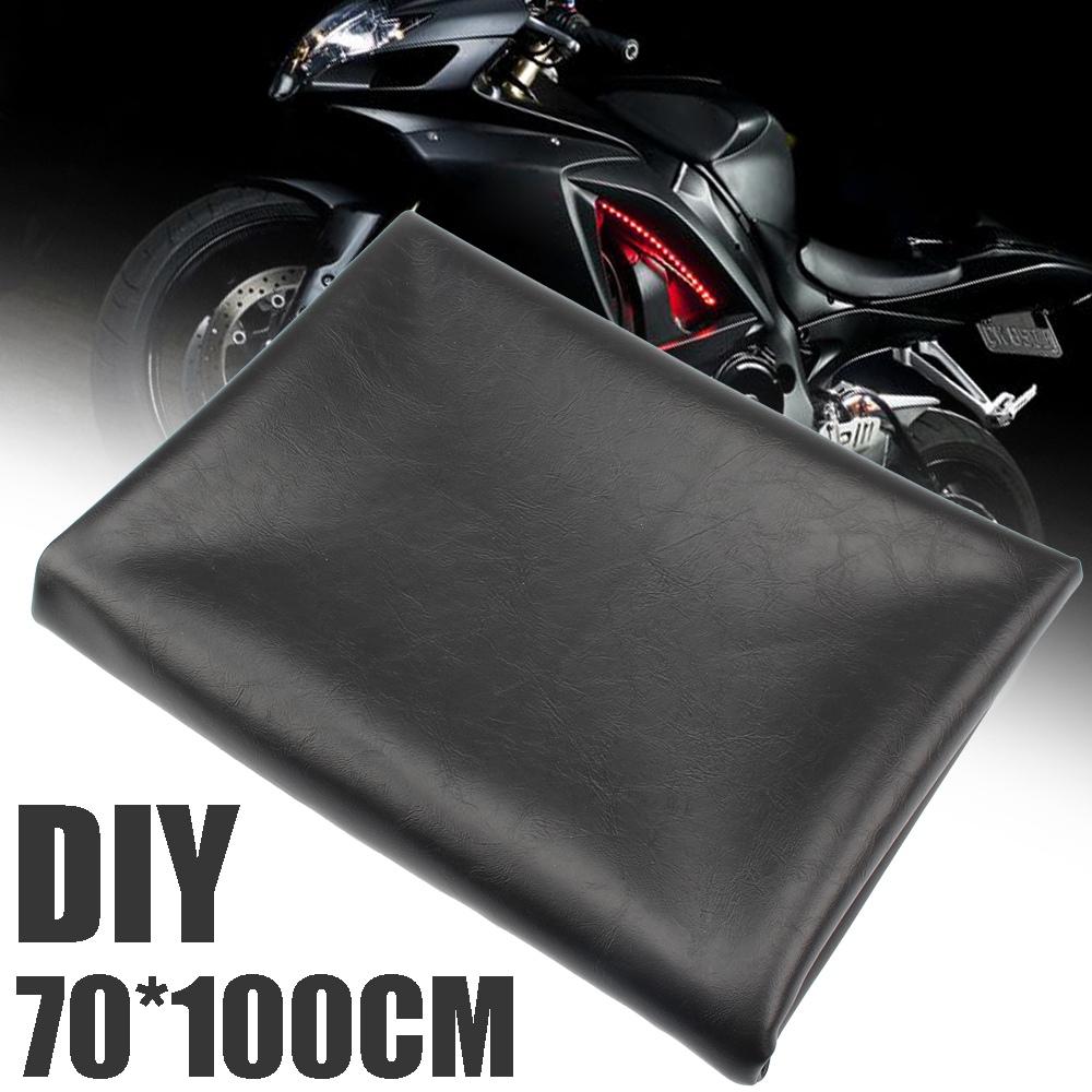 New Arrival 1pc 70x100cm Universal Black Seat Cover Special PVC-coated covers  Motorcycle Scooter Protection