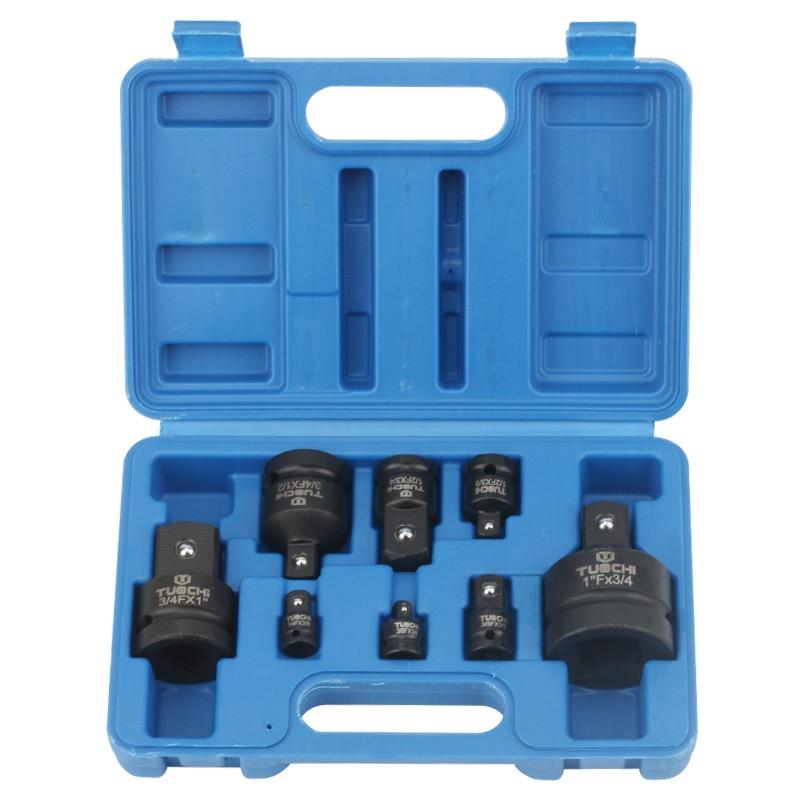 "1/4 ""3/8"" 1/2 ""3/4"" 1 ""adaptador de impacto do motorista métrica cr-mo adaptador de soquete de impacto redutor ferramenta adaptador para o impacto & chave pneumática"