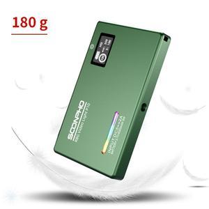 Image 5 - Soonpho RGB LED מצלמה אור מלא צבע פלט וידאו אור ערכת Dimmable 2500K 8500K Bi צבע פנל אור CRI 95 +