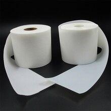 5meters 10cm wide Super soft thin baby diaper DIY Sugru Velcro self adhesive Nylon velcro hooks and loops fastener 2Rolls/set