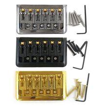 Электрический Аксессуары для гитары Гитары 6-ой мяч складной седло мост