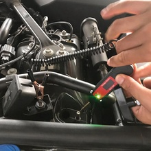 Car Digital LCD Electric Voltage Test Pen Professional Automotive Tester Pencil