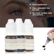 Pigment de tatouage microchauve, encre 3d, accessoires de broderie, maquillage Semi-Permanent pour sourcils, lèvres, Eyeliner, Kit de tatouage, 8ml, 1 pièces