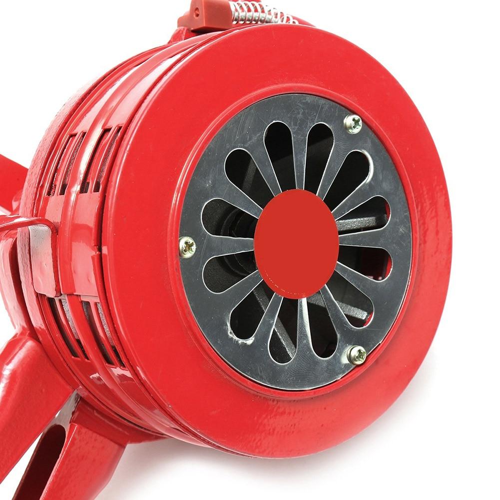 Hand Operated Crank Air Raid Safety Siren Fire Emergency Alarm Aluminum Alloy 231X202X115mm PR Sale