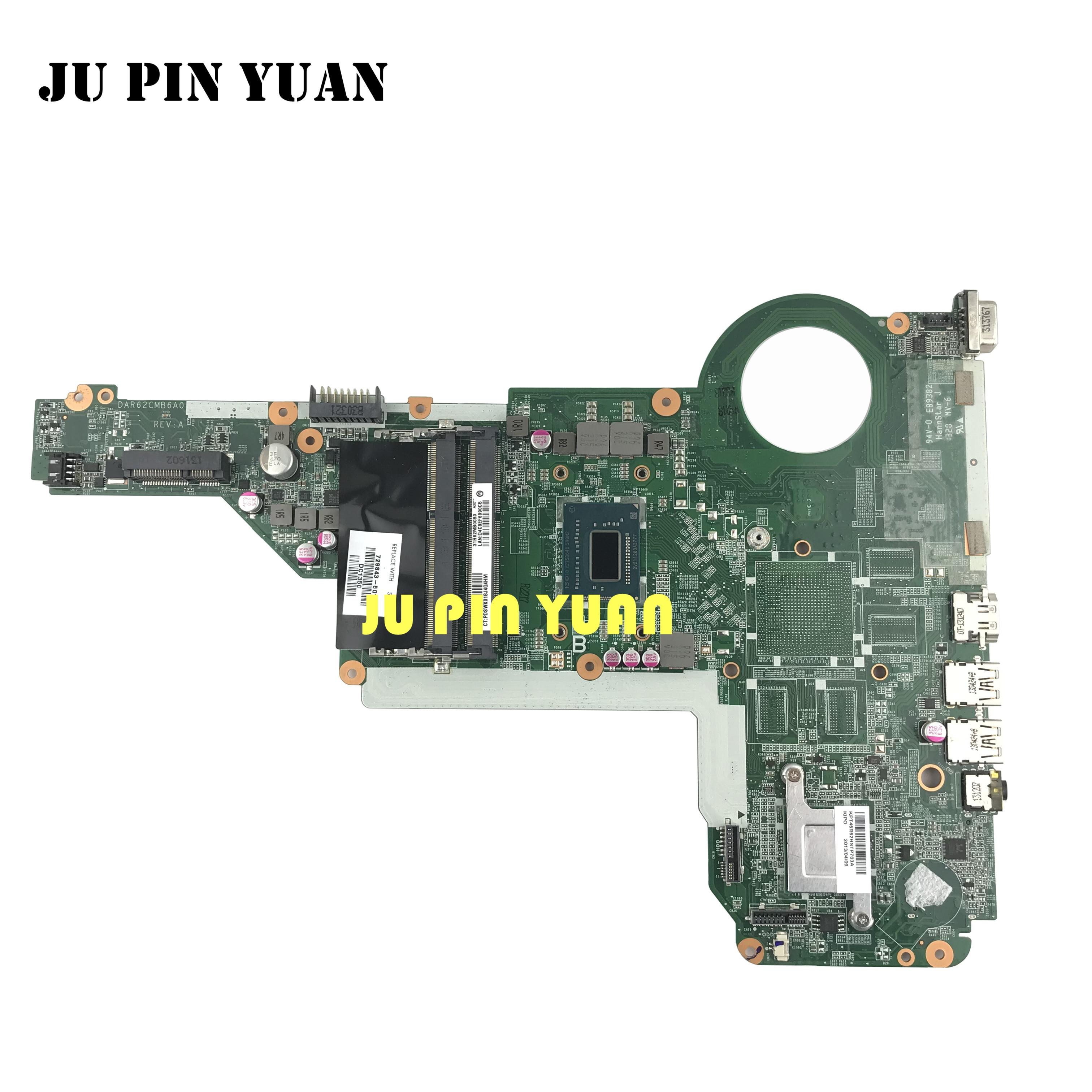 729843-501 729843-001 DAR62CMB6A0 laptop motherboard hp Pavilion 15 17 15-E