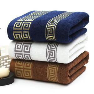Towels Bathroom Cotton Luxury Super-Absorbent Soft High-Quality 34x74cm
