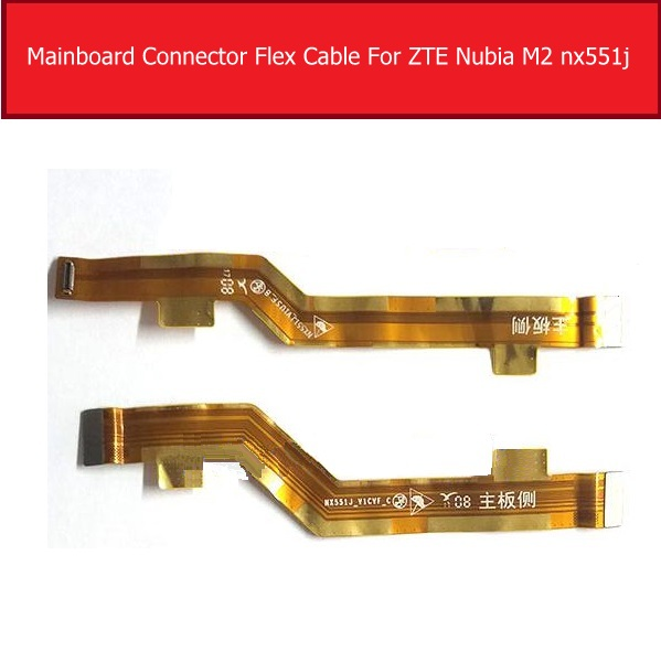 LCD Display Screen Flex Cable For ZTE M2 Nubia Nx551j MianBoard Motherboard Connector Flex Ribbon Cable Replacement Repair Parts