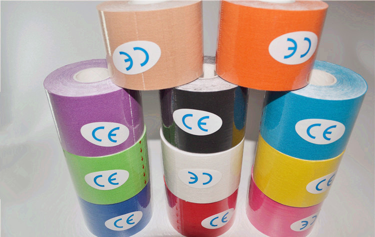 85G 5C M X 5 M Muscle Kinesio Taping In Duct Tape Self-adhesive Bandage Muscle Paste Sports Muscle Ankle Cloth Sticker
