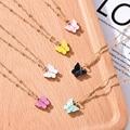 Koreanische Nette Schmetterling Anhänger Halskette für Frauen Cocktail Party Aussage Halskette Steet Stil Mode Halskette Schmuck Geschenke