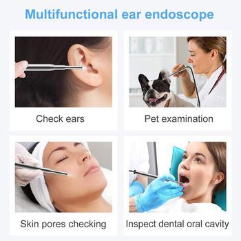 3.9mm Otoscopio Digital Medico 3 In 1 Usb Ent Cleaning Endoscope Mini Camera 720P Ear Scope For Type C Phone Android PC Windows