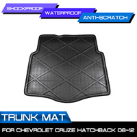 Car Rear Trunk Boot Mat Waterproof Floor Mats Carpet Anti Mud Tray Cargo Liner For Chevrolet CRUZE Hatchback 2008 2012 -