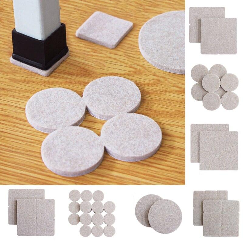Self Adhesive Felt Pads Black Sticky, Furniture Floor Pads