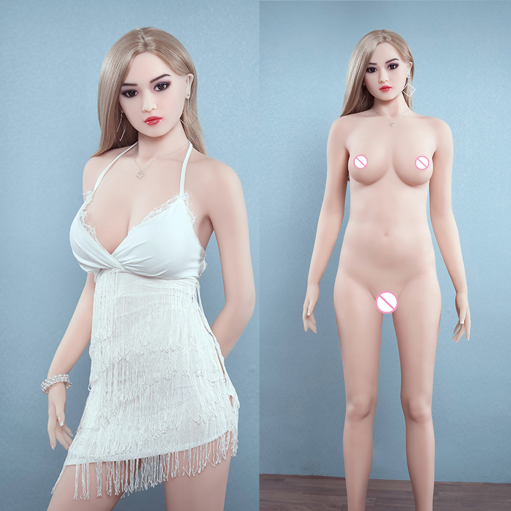 <font><b>167cm</b></font> <font><b>Sex</b></font> <font><b>Doll</b></font> Real Silicone Full Body Love <font><b>Doll</b></font> with Vagina Lifelike <font><b>Sex</b></font> Real Solid Love Toy <font><b>Sex</b></font> Shopping Store image