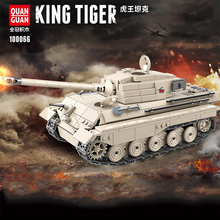 978PCS WW2 Military Tiger king tank Building Blocks Educational Military WW2 Tank Soldier Weapon Army Bricks Toys For children цена 2017