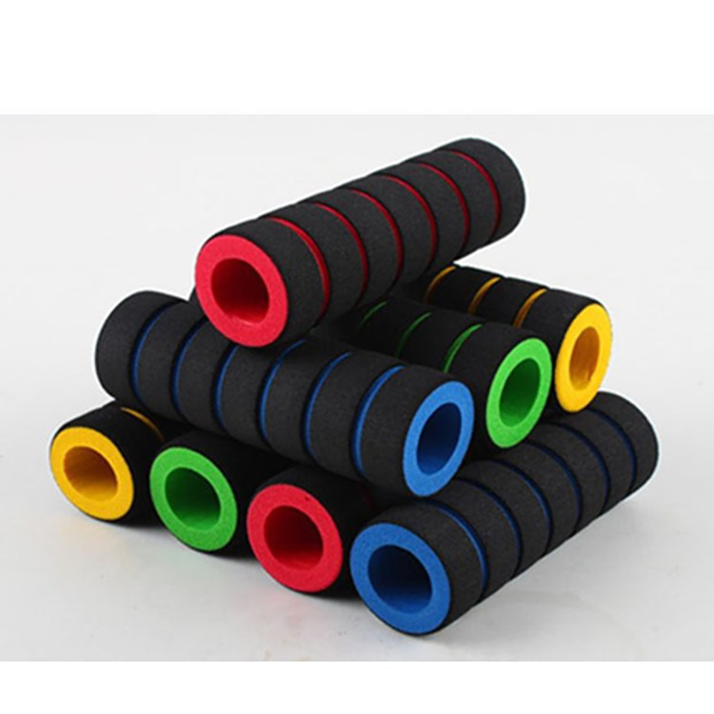 Bicycle Handle 1pair Bike Racing Bicycle Motorcycle Handle Bar Foam Sponge Cover Non-slip Poigne De Bicyclette