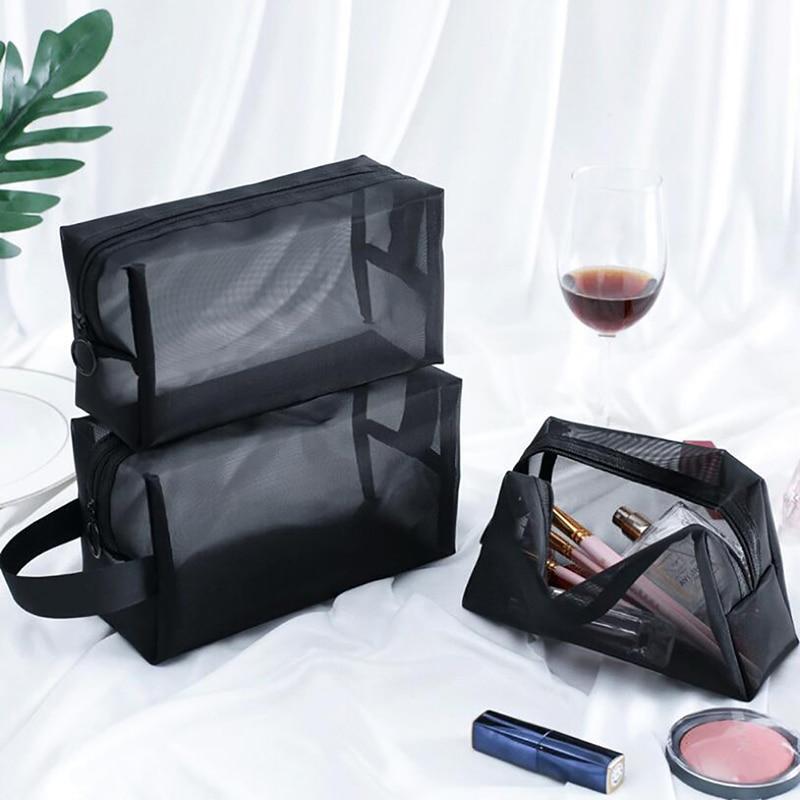 Newest Makeup Bag Cosmetic Toiletry Bathing Storage Bag Large Capacity Wash Make Up Hanging Storage Bag Travel Bags For Bathroom