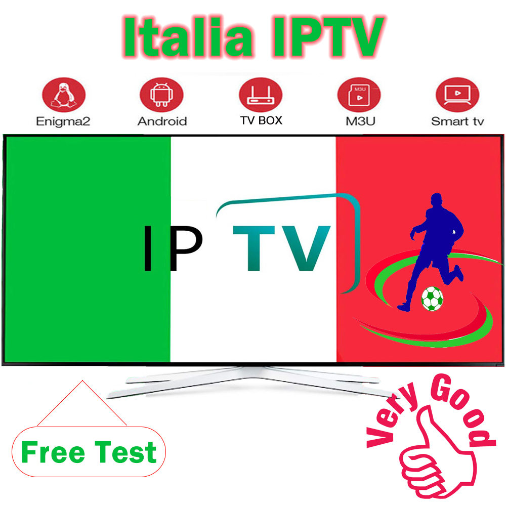 Italy Iptv M3u Subscription 4000+ Live Italia German Portugal Italian Uk Indian Iptv Account For Android Box Smart Tv IOS PC