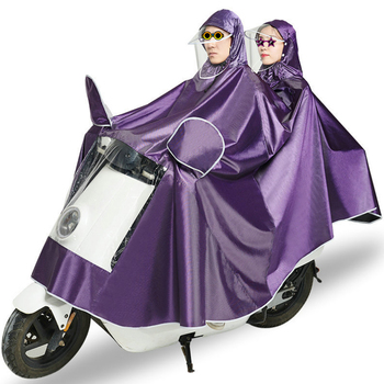 Bike Motorcycle Raincoat Waterproof Rain Poncho With Mirror Cover And Transparent Plastic Paper Waterproof Recycling Rain Gear