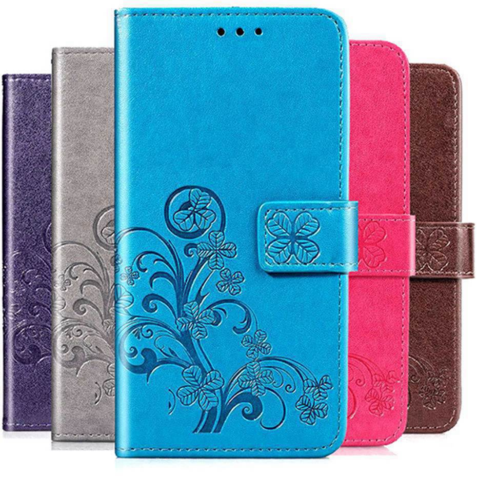 3D Clover PU Leather Flip Case For Samsung Galaxy A31 Case Cover For Samsung Galaxy A31 A315F A315 Wallet Phone Cover