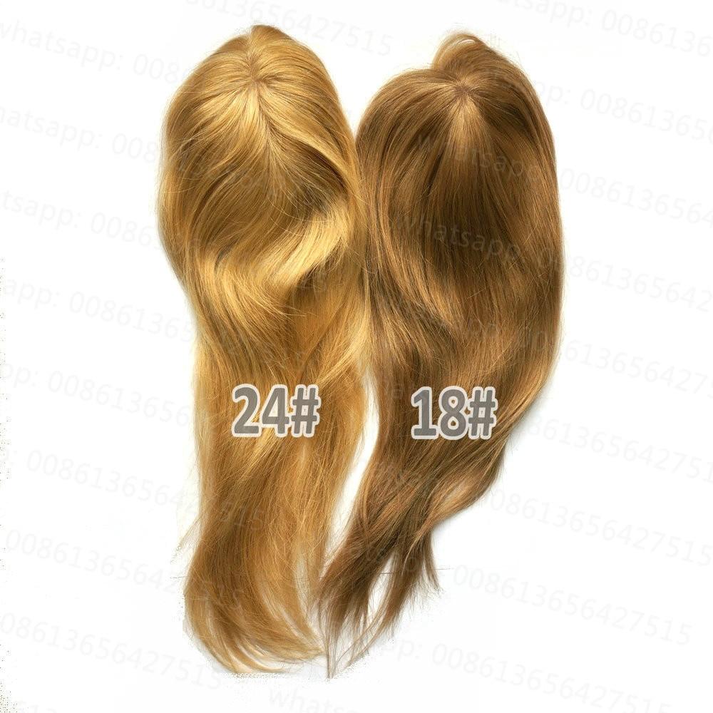 Hstonir Toupee Hair For Women Human Hair Topper Toupee 613 Closure Wig Kosher European Remy Hair Top Piece TP04