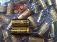 2PCS NICHICON FG 63V1000UF 18x35.5MM fine gold 1000UF 63V FineGold 1000UF63V Amplifier MUSE Audio Capacitor 1000UF/63V