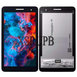 Dla Huawei Honor Play Mediapad T1-701 T1 701W T1-701W z ekranem dotykowym szkło Digitizer czujnik montaż panelu wyświetlacza LCD
