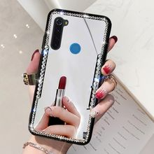 Mi Rror Case Voor Red Mi Note 8T 8 Siliconen Ring Back Cover Voor Xiao Mi Mi 9 8 lite Rood Mi 8A 7A 4X Rode Mi Note 7 5 6 8 Pro Telefoon Geval(China)