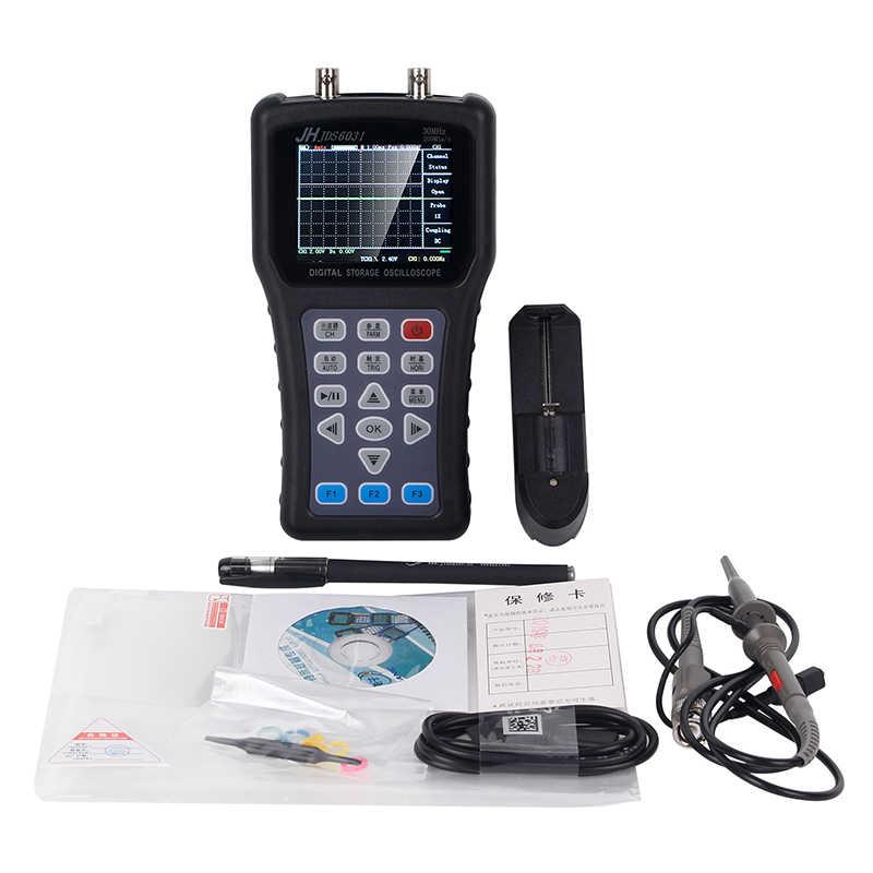 JH JDS6031Hand-Held Oscilloscoop draagbare Oscilloscoop JDS6031 Met 1CH 30M 200MSa/S Digitale Strorage Oscilloscoop