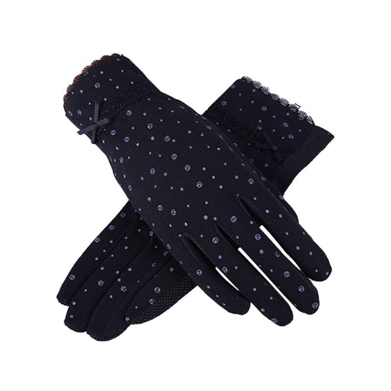 Women Driving Gloves Summer Autumn Breathable Stretch Gloves Touch Screen Sunscreen Anti Uv Slip Resistant Glove Black Pink|Women