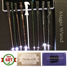 Magic-Wand Harried Voldmort Dumbledore Express-Ticket Luna with as Gift-Box-Pack 22 Ron