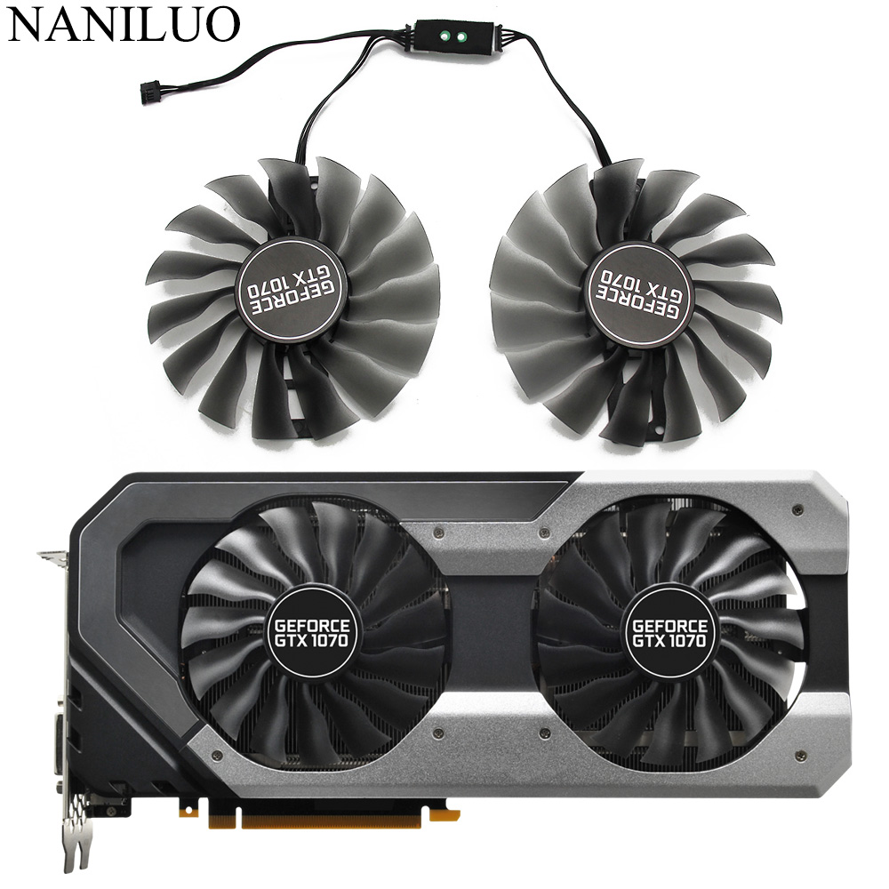 GAA8S2U FD10015H12S DC12V 0.45A For EMTek PALIT GTX 1070 GTX1070 Super JetStream Graphics Card Cooling Fan