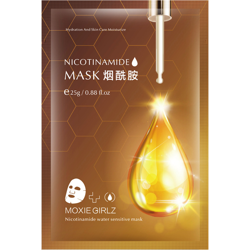 Nicotinamide Water Sensitive Mask Remove Acne Replenish Water Control Oil Shrink Pores