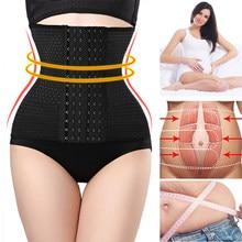 Aço ossos cintura trainer cinchers shaper corpo shapewear mulheres mais tamanho espartilho emagrecimento cinto barriga cinta binder bainha da barriga