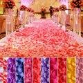 1000/10000 Pcs Romantic Wedding bride sprinkling flowers Artificial Rose Petals Colorful Silk Flower Accessories 5zSH012