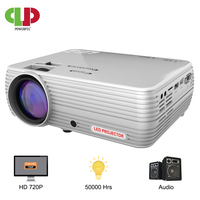 POWERFUL MINI Projector X5+ 1280*720P Proyector 4K Full HD 2600 lumen WIFI Proyector Beamer Home Cinema Optional Android Version